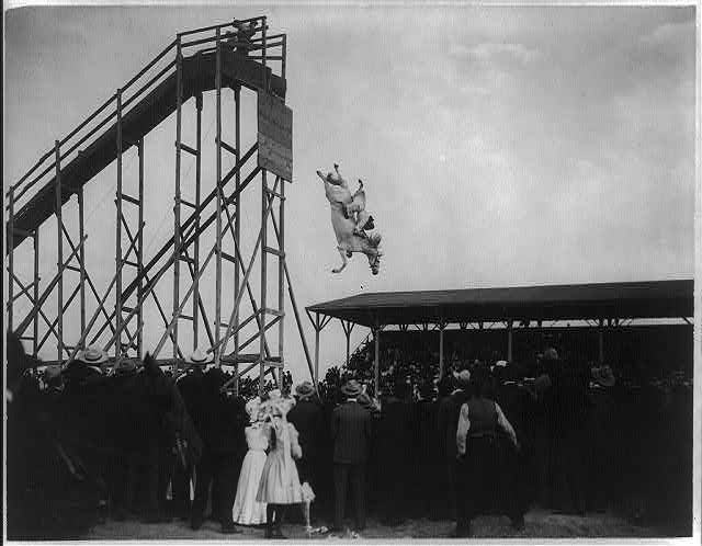 The daring ride of Mrs. Eunice (Winkless) Padfield, July 4th 1905