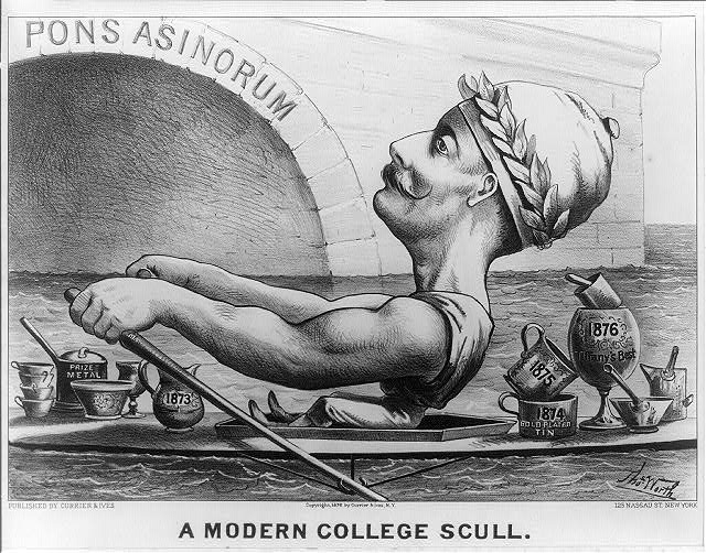 A modern college scull: graduating with all the honors