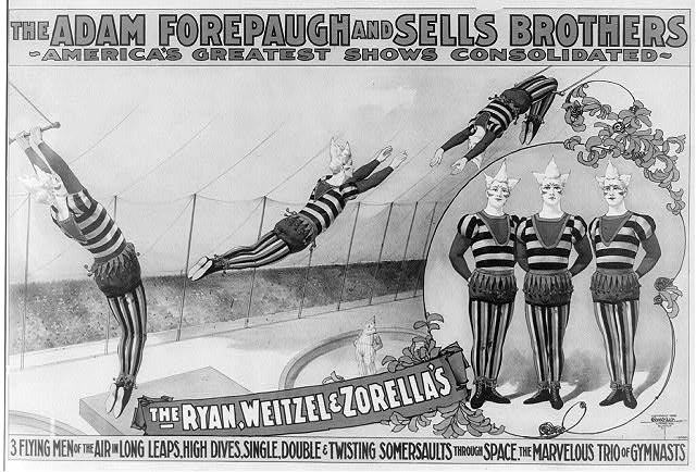 The Adam Forepaugh and Sells Brothers, America&#39;s greatest shows consolidated--the Ryan, Weitzel &amp; Zorella&#39;s