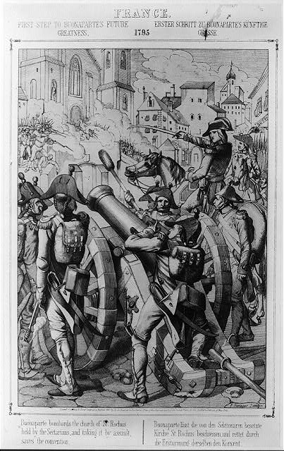 France. The Siege of Toulon