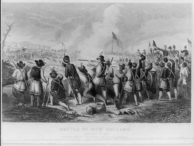 The Battle of New Orleans January 8th 1815