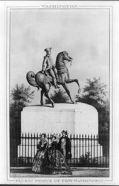 Washington. Equesn. statue of Genl. Washington