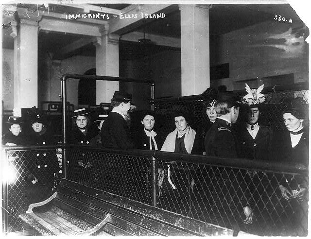 Immigrants - Ellis Island