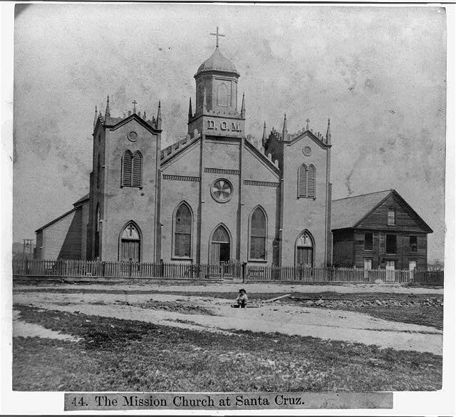 The Mission Church at Santa Cruz