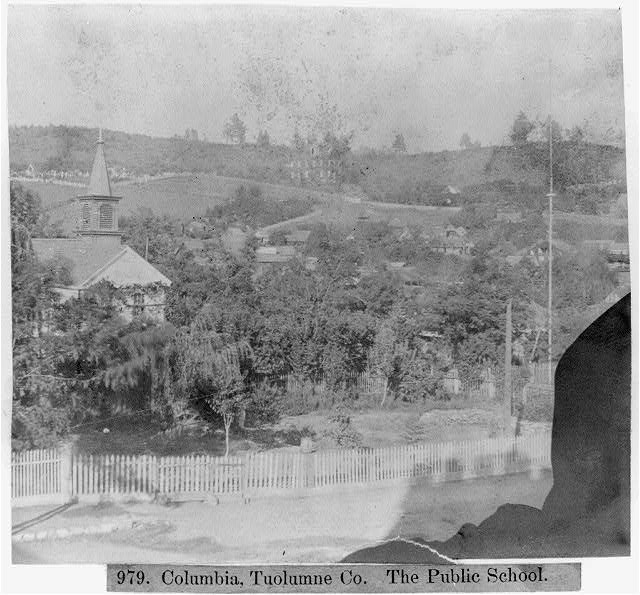 Columbia, Tuolumne County - The Public School
