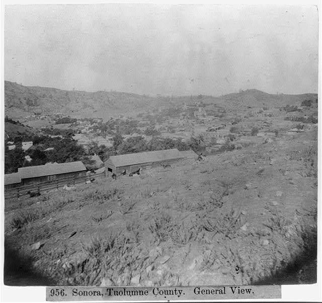 Sonora, Tuolumne County - General view
