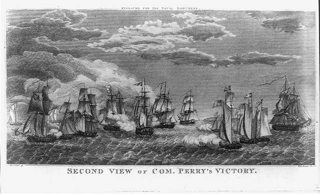 Second view of Com. Perry's victory