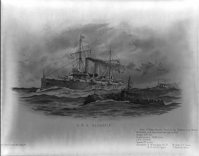 "H.M.S. ""Blenheim"""