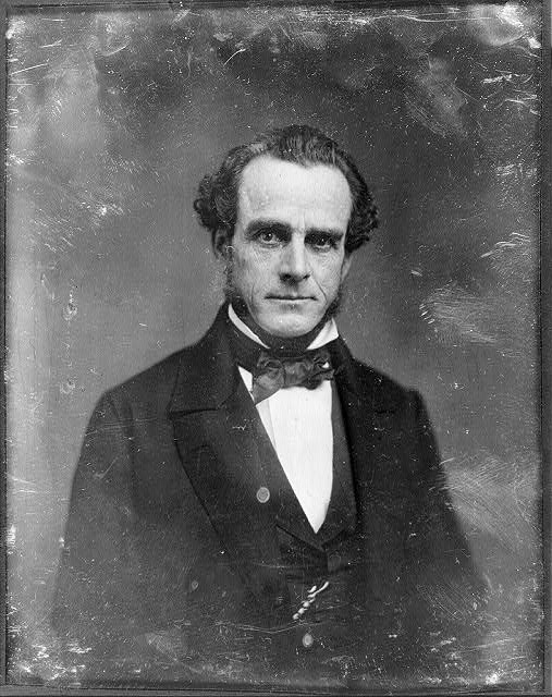 [Thomas Butler King, half-length portrait, nearly facing front]