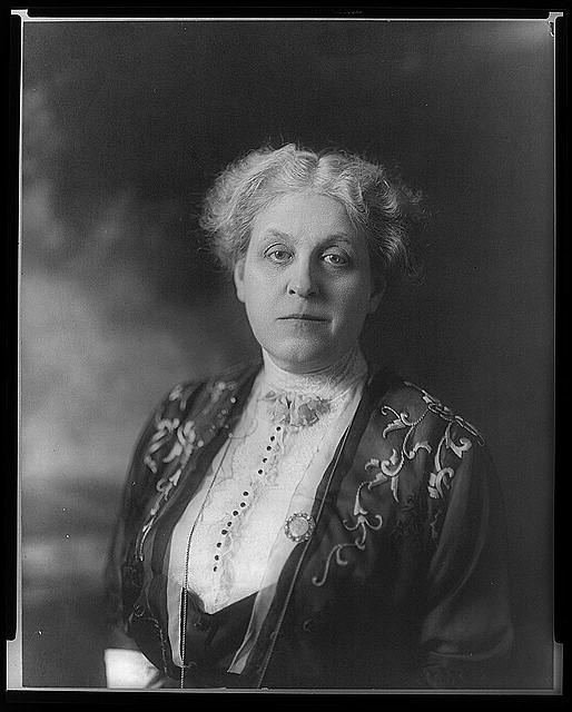 [Carrie Chapman Catt, head-and-shoulders portrait, facing front]