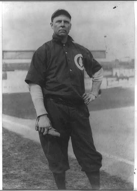 "[Mordecai ""Three Finger"" Brown,  Chicago NL (baseball)]"