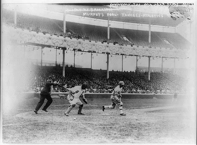 [Eddie Murphy, batting for Philadelphia AL, Apr. 15, 1914 (baseball)]