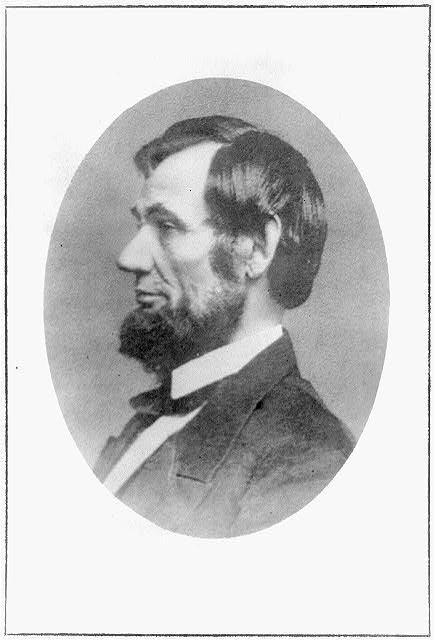 [President Abraham Lincoln, profile bust, May 16, 1861]
