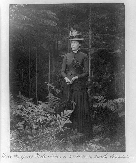 Miss Margaret Motti: taken in woods near mouth [of] Socateau
