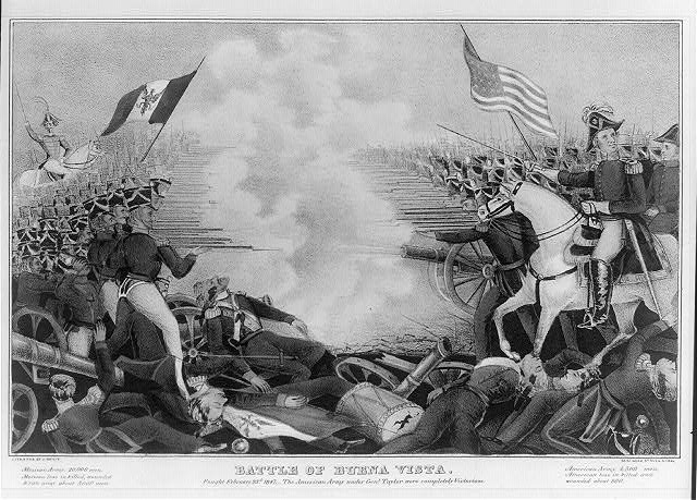 Battle of Buena Vista--Fought February 23d, 1847--The American Army under Genl. Taylor were completely victorious