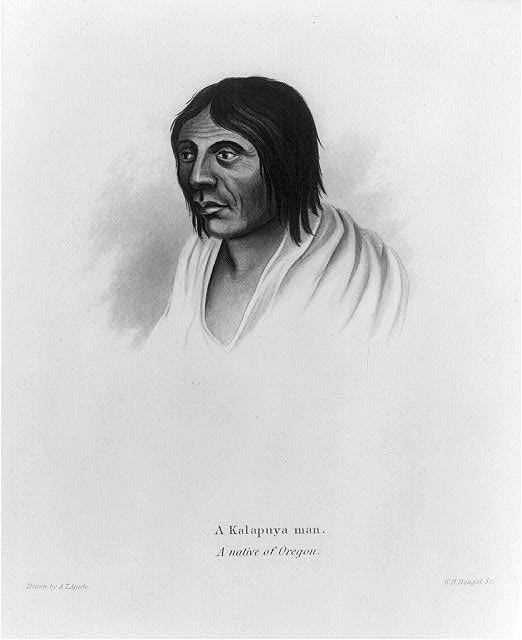 A Kalapuya man - a native of Oregon