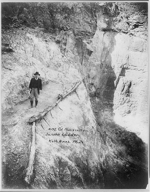 Col. Roosevelt on Jacobs Ladder
