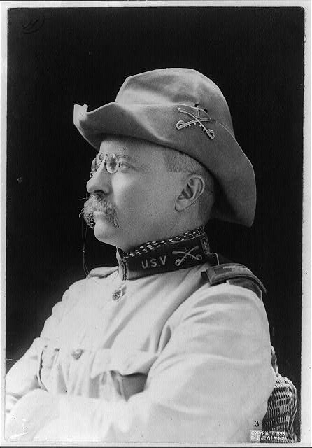 [Colonel Theodore Roosevelt, full-length and head-and-shoulders length portraits, in uniform]