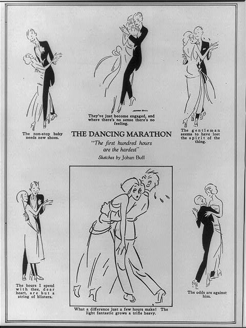 The dancing marathon