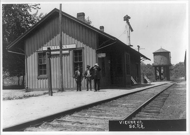 Vienna, Va., station of the Southern railway system, 1909