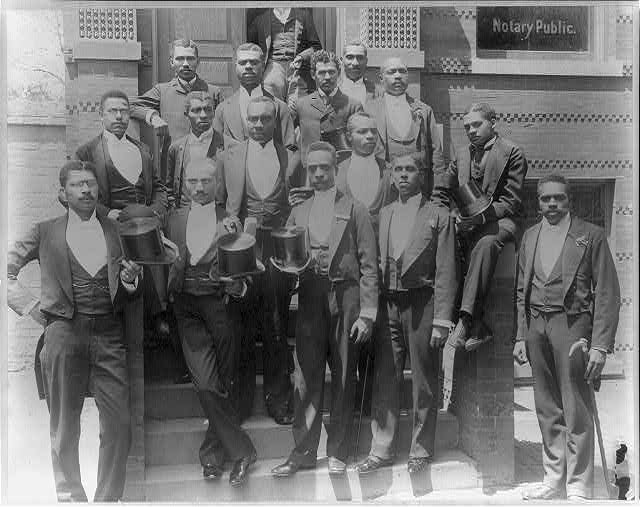 Law graduating class at Howard University, Washington, D.C.