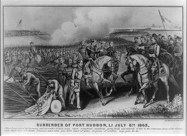 Surrender of Port Hudson, La. July 8th. 1863