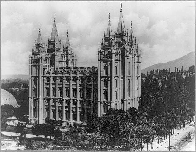 Temple, Salt Lake City, Utah