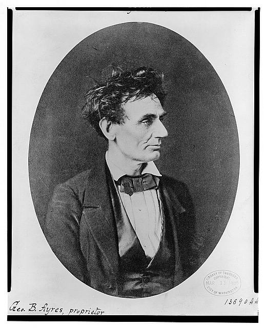 [Abraham Lincoln: Immediately prior to Senate nomination, Chicago, Illinois]