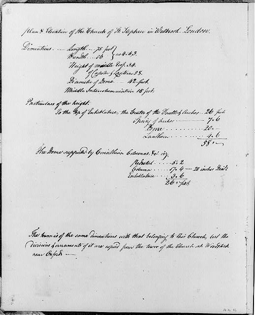 [Specifications for Church of St. Stephen, London, Eng.]