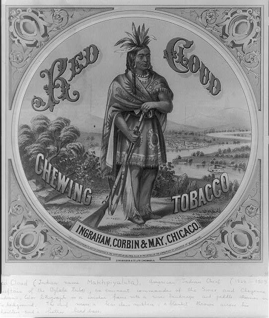 Red Cloud chewing tobacco