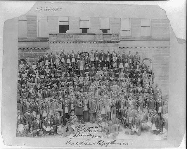 Group of Grand Lodge of Masons, No. 1