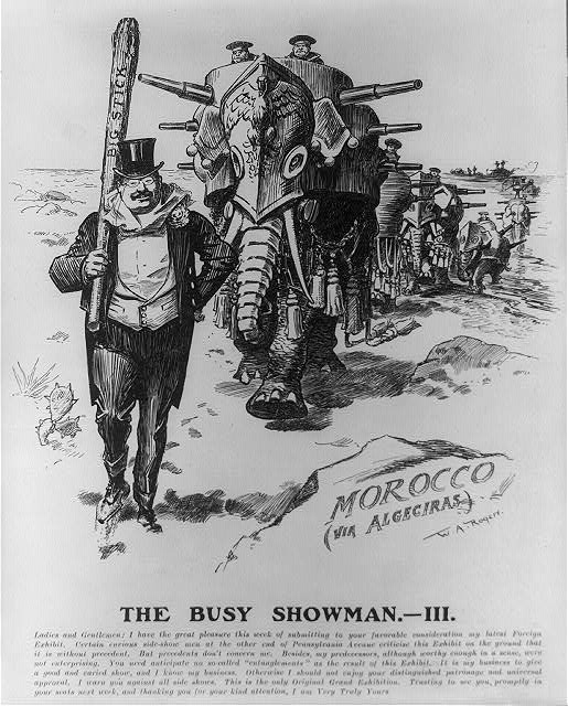 The busy showman.--III