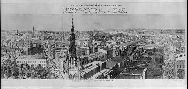 New-York, in 1849