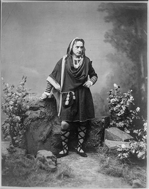 [Edwin Booth as Hamlet, Act 5, Scene 1]