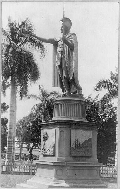 Kamehameha, the great. Statue