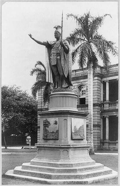 Kamehameha, the great - Statue