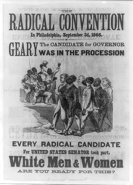 The Radical Convention in Philadelphia, September 3d, 1866