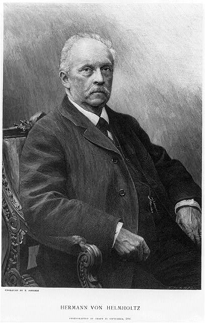 Hermann von Helmholtz photographed by Brady in September 1893