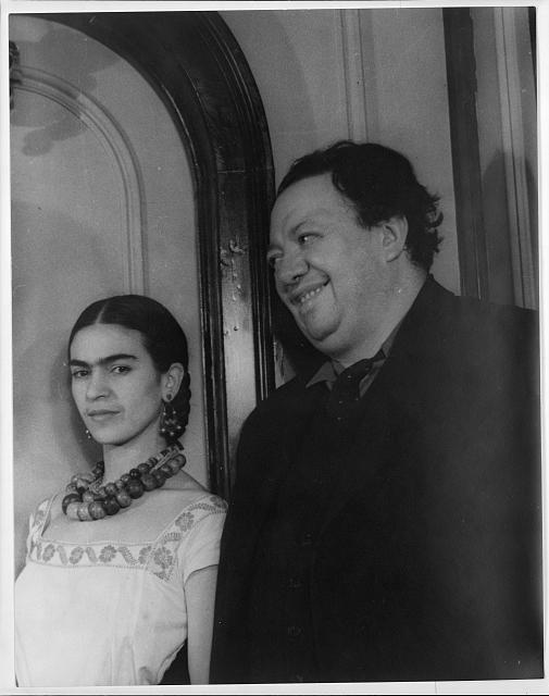 [Portrait of Diego Rivera and Frida (Kahlo) Rivera]