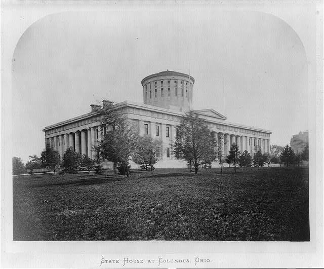 State house at Columbus, Ohio