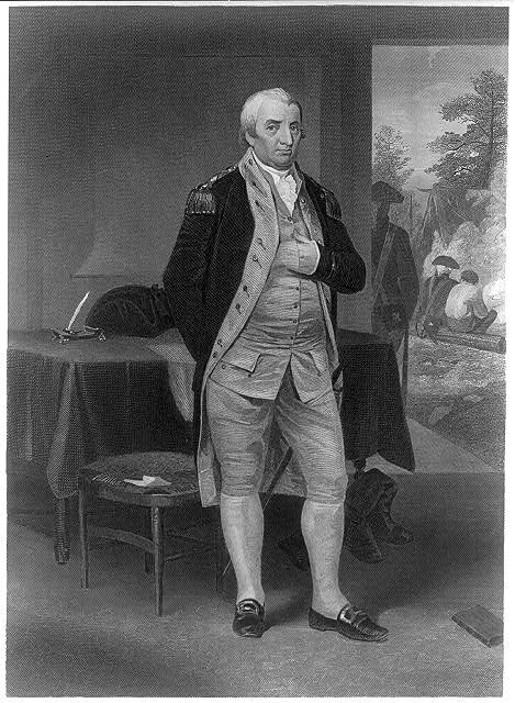 [Charles Cotesworth Pinckney, 1746-1825, full-length portrait, standing, facing right]