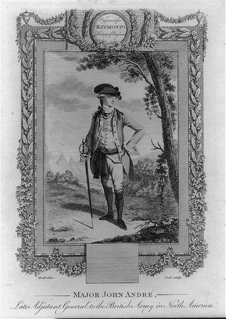 Major John Andre, late Adjutant General of the British army in North America