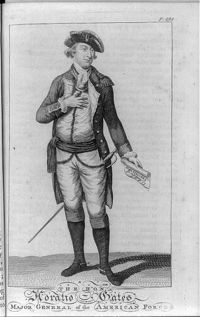 The honble. Horatio Gates, major general of the American forces