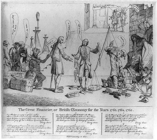 The great financier, or British economy for the years 1763, 1764, 1765