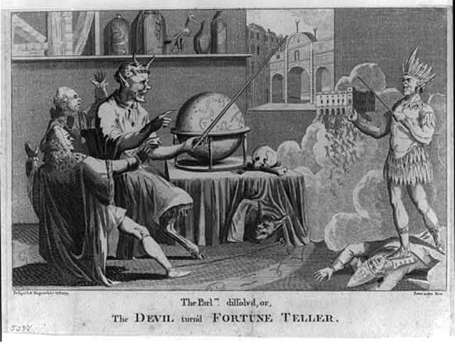 The Parlmt. dissolved, or, the Devil turn'd fortune teller