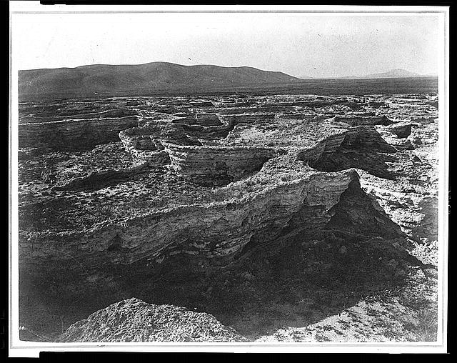 [Soda Springs on Bear River, extinct basins]