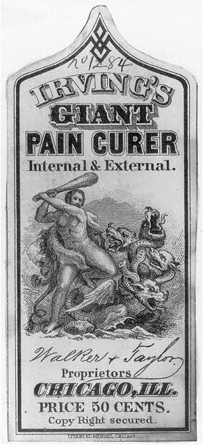 Irving's Giant Pain Curer