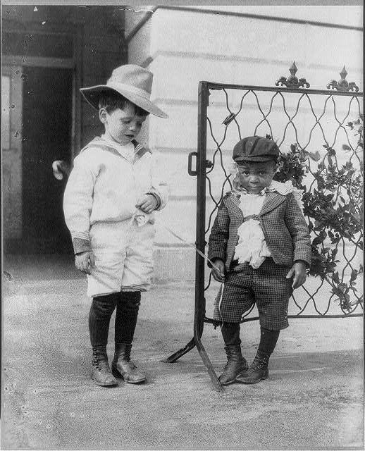 [Quentin Roosevelt and Roswell Newcomb Pinckney as children]