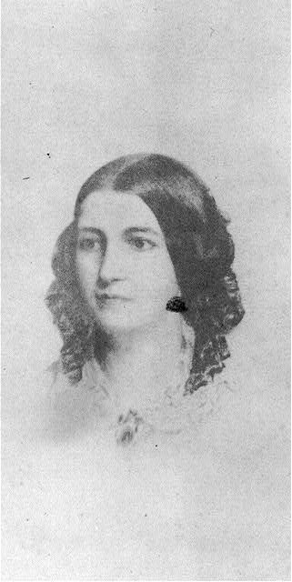 [Fanny Longfellow, head-and-shoulders portrait, facing left]