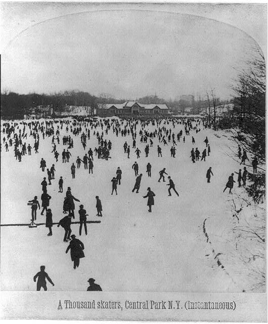 A thousand skaters, Central Park, N.Y. (Instantaneous)
